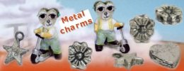 metal charms perline per ciondolini di metallo zinco