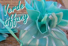 e-commerce sacchettino in organza raso verde blu tiffany per promessa matrimonio